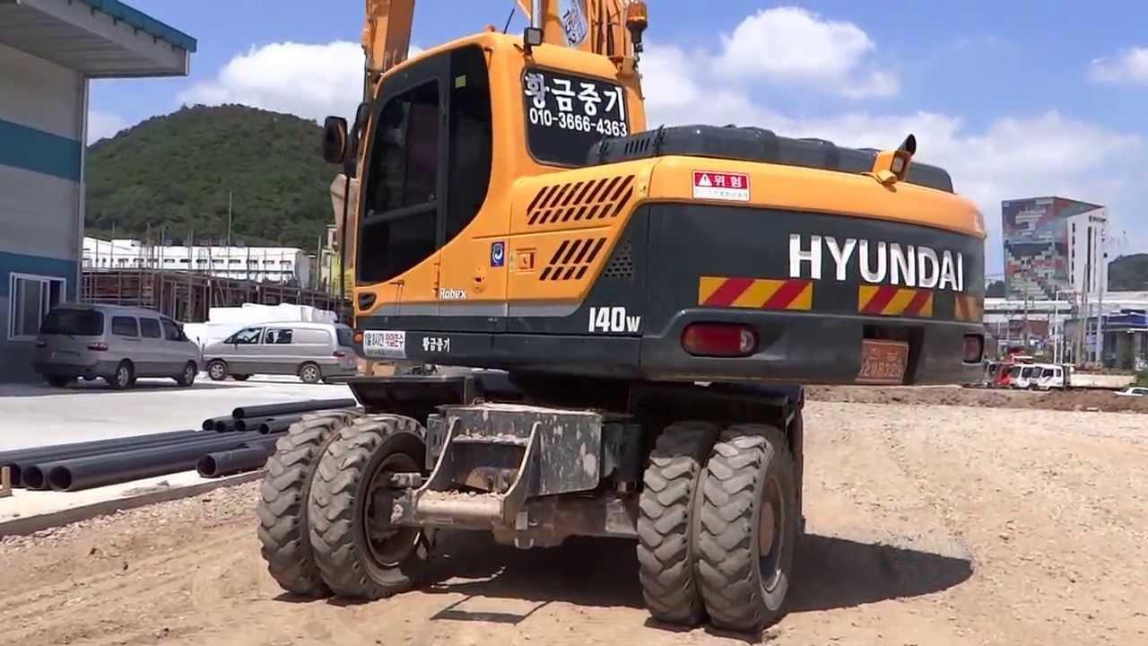 [Autowini com] Korean used Excavator - Hyundai R140W (Hyundai12-102)