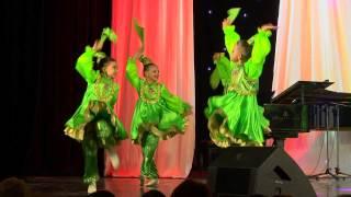 Елмай. Танцевальный коллектив совхоза Майский