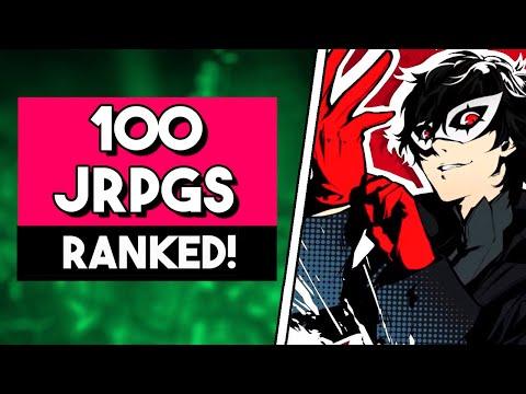 Ranking 100 JRPGS! (JRPG Tier List)