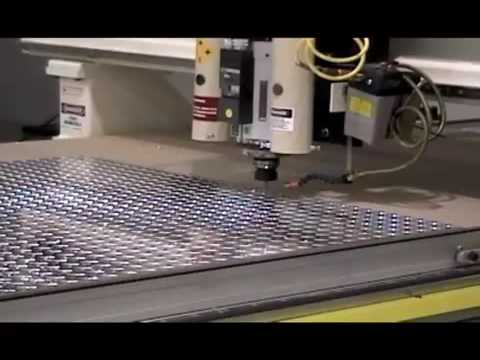 Thermwood Corporation 3 Axis Cnc Routers Machining Aluminum