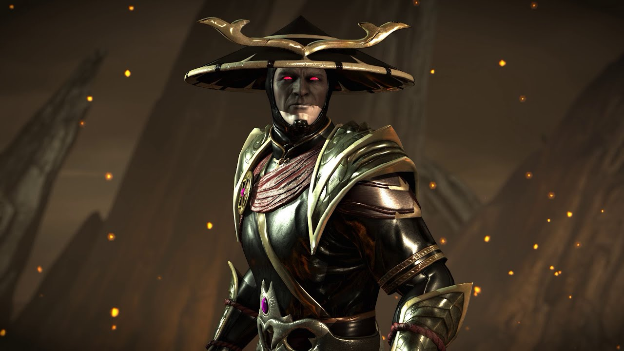 dark raiden mortal kombat wallpaper