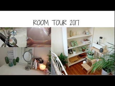 Room Tour 2017 Plants Wood White Aesthetic Youtube