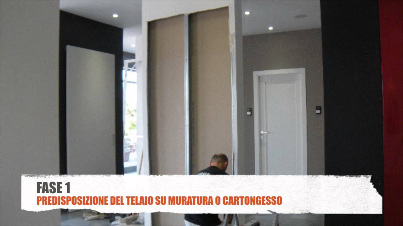 Come Installare Una Porta Rasomuro Youtube