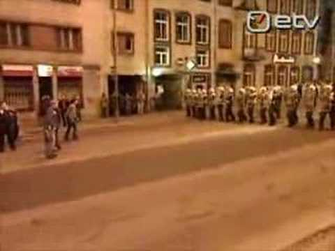 "Mobs of russian-speak ""minorities"" riot in Tallinn, Estonia"