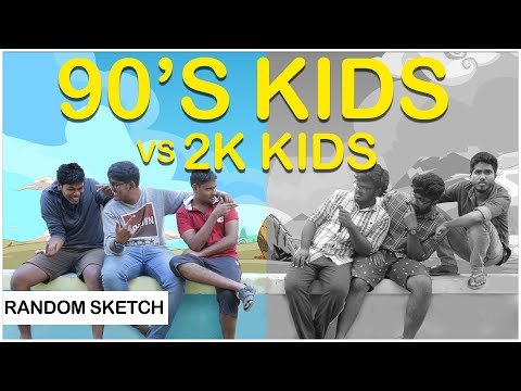 90s Kids Vs 2000 Kids Ft.Somabanam | Team NYK | Nee Yaaruda Komali
