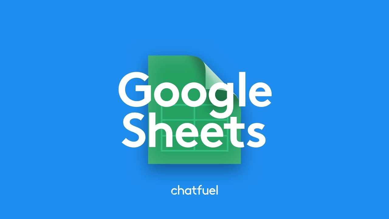 Export Messenger Bot Data with Google Sheets (Tutorial)