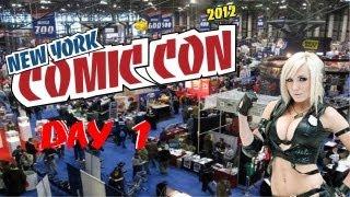 New York Comic-Con 2012 Adventures Day 1: Pt. 3 - Meeting Jessica Nigri/Happy Rager