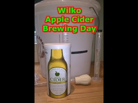 Wilko Apple Cider Brewing Day #93 Homebrew Beer Wine Spirits