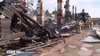 Пострадавший от пожара дом в Никольске отремонтируют