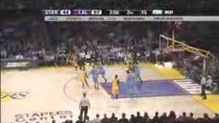 12-28-2007 - UTAH vs. LAL HDTV Highlights (Part 1)