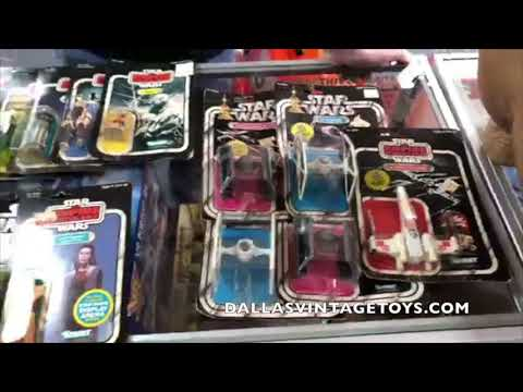 Dallas Vintage Toys More Kenner Star Wars and CAS Collector Archive Services unboxing! 4/4/18