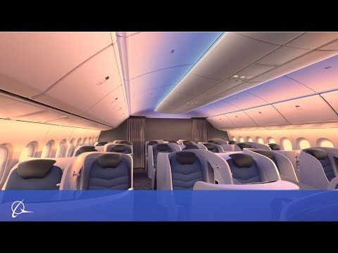 Boeing Cabin Experience   777X and 787 Dreamliner