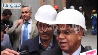 بالفيديو وزير النقل يتفقد الخط الرابع لمترو الأنفاق