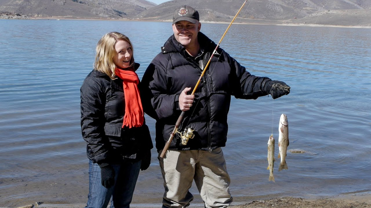 Utah fish finder tv show scofield reservoir youtube for Utah fish finder