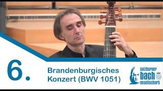 6. Brandenburgisches Konzert (BWV 1051)   Barockorchester des Instituts für Alte Musik Uni Mozarteum