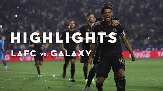 Full Highlights | 1-1 | LAFC vs. Galaxy | August 24, 2018