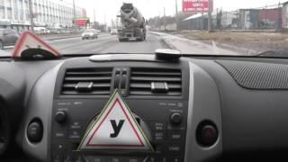 Автонакат - Урок для весны с любопытным водителем.