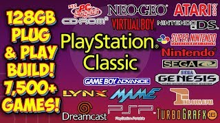 PlayStation Classic 128GB Retro Console Plug & Play USB Drive Build - Retroboot