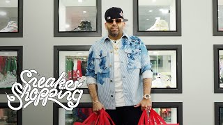 Mayor Goes Sneaker Shopping With Complex, Gives Exclusive Sneak Peek Of Fat Joe's Grail Wall