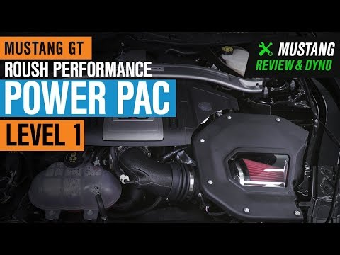 2018-2020 Mustang GT  Roush Performance Power Pac - Level 1 Review & Dyno