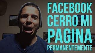 FACEBOOK CERRO MI PAGINA DE 800.000 SEGUIDORES