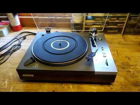 Pioneer PL 510 Turntable Re Veneer DIY Project