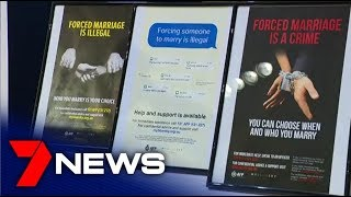 Australian Federal Police launch forced marriage awareness campaign at Sydney airport | 7NEWS