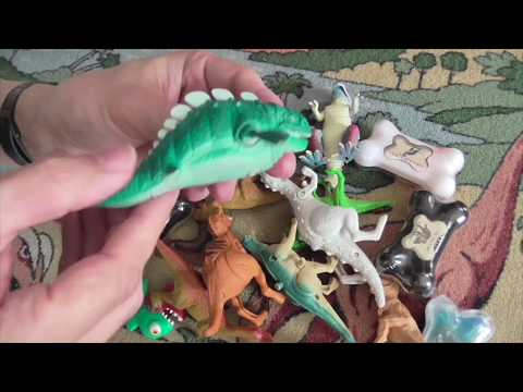 Mixed Dinosaur Toys Unboxing
