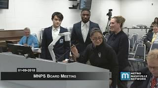 01/09/18 MNPS Board Meeting