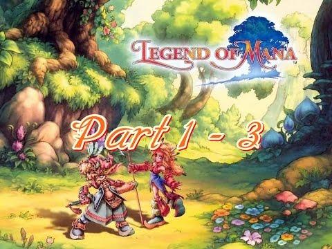 (PS1) Legend of Mana [Part 1-3] วิธีผ่าน บรรยายไทย แปลเนื้อเรื่อง 100%