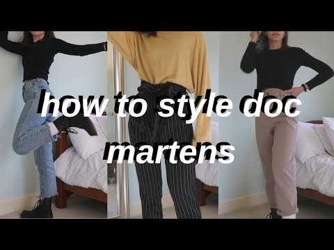 5 outfits with doc martens!! (lookbook!) amanda linh
