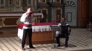 """La Cules de Cucuruz'"" par Dorian GHEORGHILAS – Flûte de Pan et Philippe BORECEK – Accordéon"