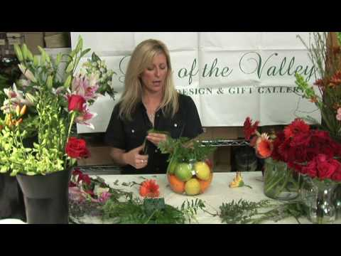fruit flower arrangements how to make