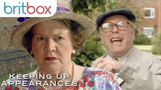 Richard Raises His Voice At Hyacinth | Keeping Up Appearances