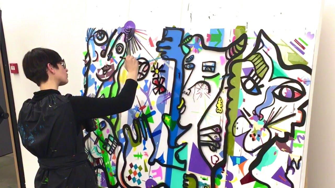 Séminaire Team building peinture aNa art contemporain