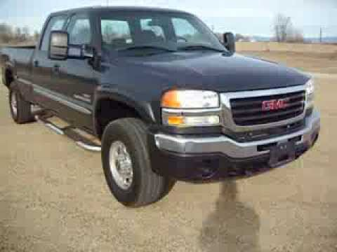 2006 gmc sierra 2500hd lt crew cab long bed duramax. Black Bedroom Furniture Sets. Home Design Ideas