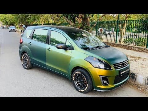 Only Chameleon Wrapped Maruti Ertiga | Ertiga Custom Headlights & Taillights