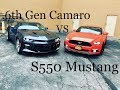 2016 Chevy Camaro SS VS 2016 Ford Mustang GT