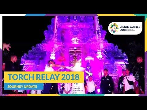 Asian Games 2018 - Torch Relay Recap (Bali)