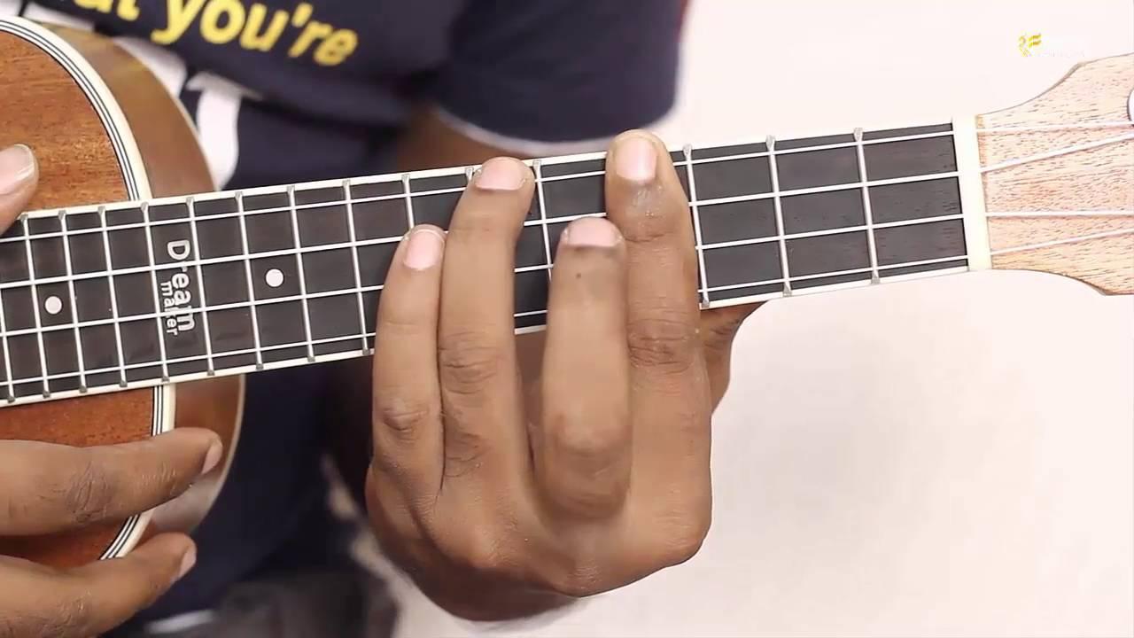 How To Play C Sharp Minor Ukulele Easy Chord Ukulele Lessons