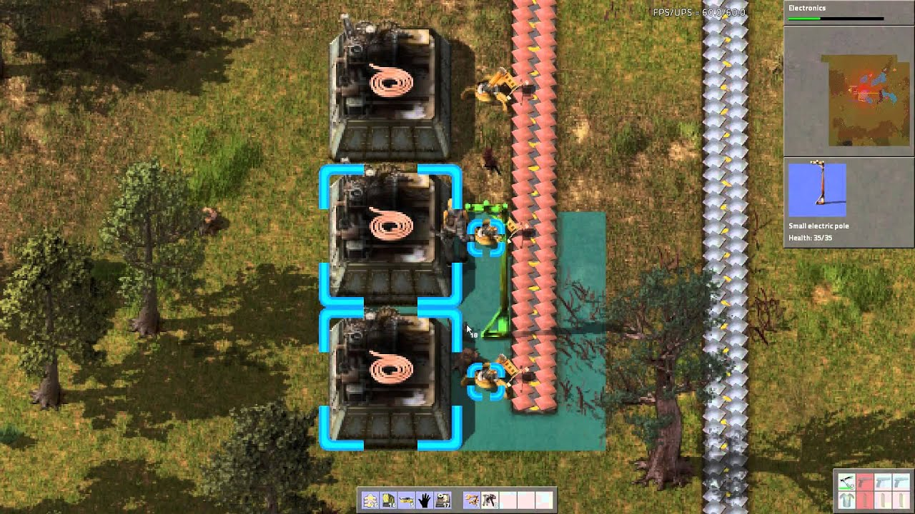 Captivating Letu0027s Play Factorio 4.002: Main Bus, Red And Green Science   YouTube