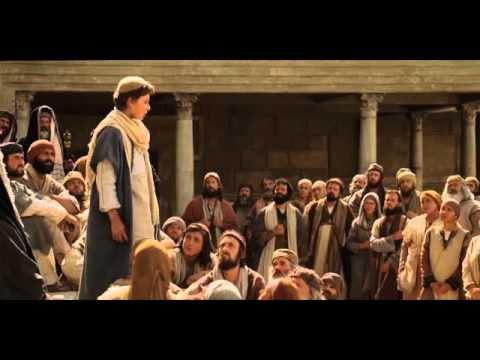 young jesus teaching in the temple - YouTube