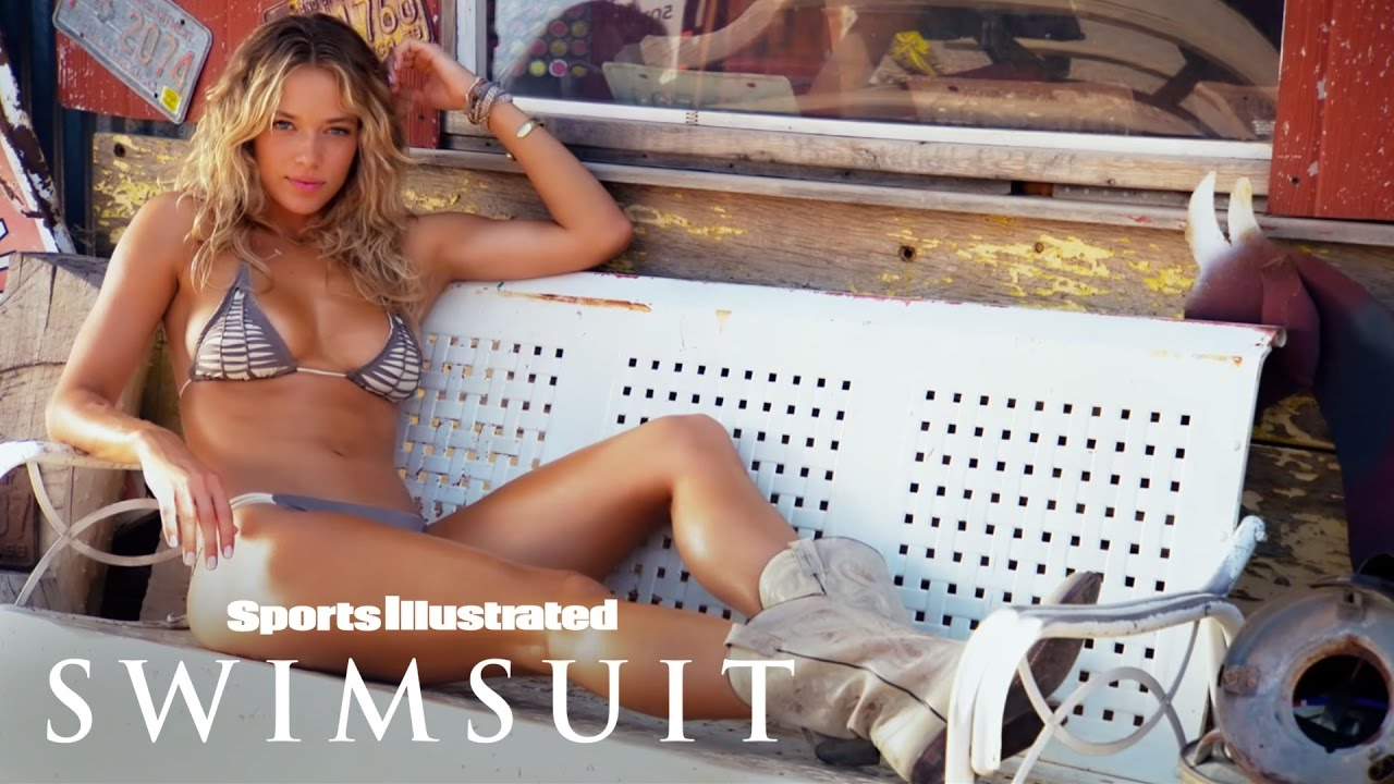 Sports Illustrated Swimsuit 2015 Route 66 Shooting mit Hannah Ferguson