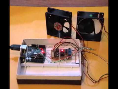 Arduino Pwm Fan Speed Controller Youtube