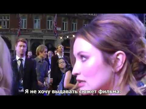 Emily Browning 'Legend' Interview Hey You Guys, 2015