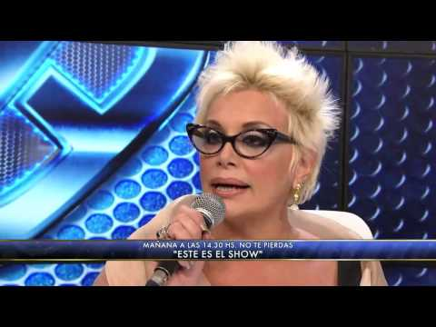 Showmatch 2012 - Carmen Barbieri renunció pero volvió