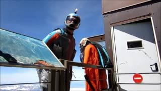 Wingsuit ugrás testközelből - Mont Blanc