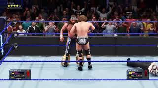 Jon MoxleyVS Matt Jackson/Ryback VS Big Chungus/Hangman Page VS Nick Jackson