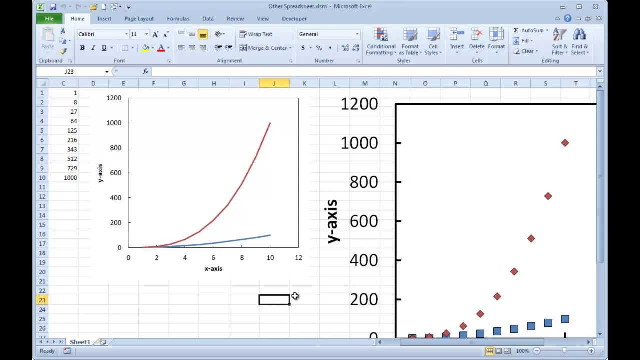 Creating graphs using a macros to quickly format ms excel youtube ccuart Image collections