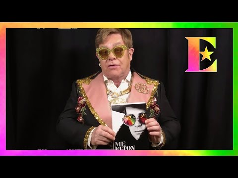 Lee Valsvik - Elton John Reveals Cover of His Autobiography ME!